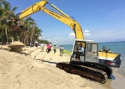 Dyke approved for Cua Dai beach to prevent erosion