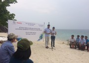 UNESCO launches beach clean-up campaign in Cham Islands