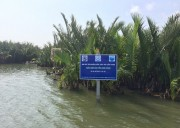 Establishment the Fishery Refugia pilot model in two different habitats (coral reef and mangrove forest) in Cu Lao Cham – Hoi An Biosphere Reserve